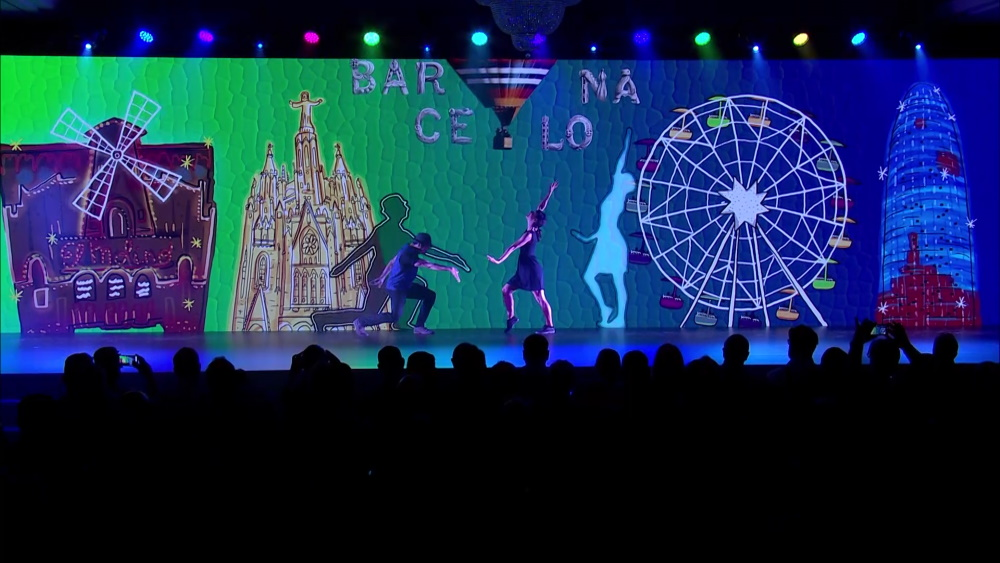 Barcelona dance mapping