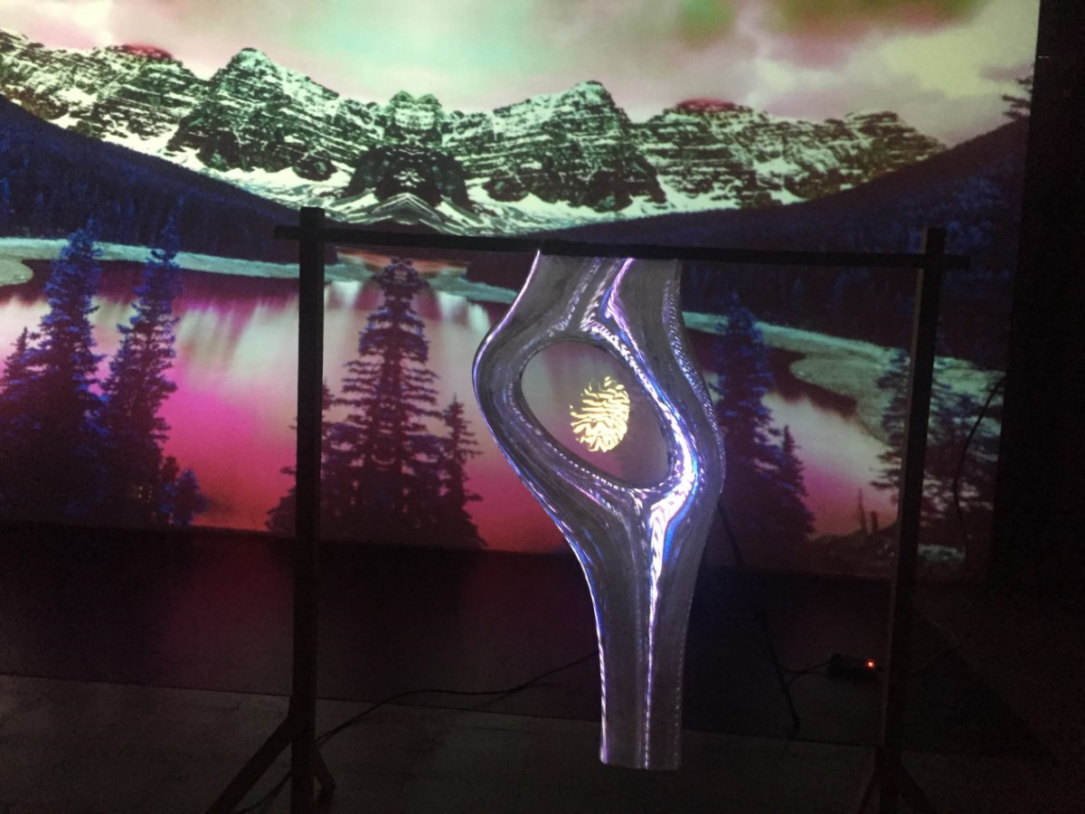Holomapping - Interactive installations
